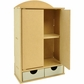Beyond The Page MDF 2-Door Wardrobe Storage w/2 Drawers