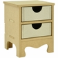 "Beyond The Page MDF 2-Drawer Mini Dresser - 5""x4.25""x6.25"""
