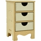 "Beyond The Page MDF 3-Drawer Mini Tall Boy Dresser - 5""x4.25""x7.25"""