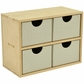 Beyond The Page MDF 4 Square Drawers