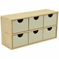 Beyond The Page MDF 6-Drawer Wide Unit