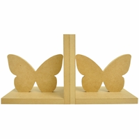 Beyond The Page MDF - Butterfly Bookends