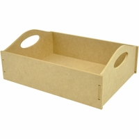 "Beyond The Page MDF Carry Tray - 13""x9.75""x4.75"""
