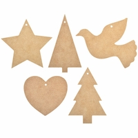 Beyond The Page MDF - Christmas Garland Cut-Outs