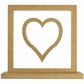 Beyond The Page MDF Heart Frame