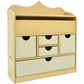 Beyond The Page MDF Lift Top Jewelry Unit w/5 Drawers