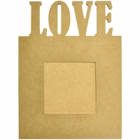 Beyond The Page MDF - Love Frame