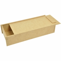 Beyond The Page MDF Pencil Box With Slide Lid