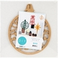 Beyond The Page MDF - Round Bauble Ornament