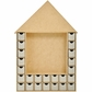 Beyond The Page MDF - Shadow Box Advent House Calendar