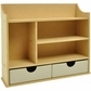 Beyond The Page MDF Shadow Box Shelves w/2 Drawers