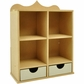 Beyond The Page MDF Shadow Box Unit w/2 Drawers
