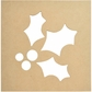 """Beyond The Page MDF - Silhouette Wall Art 12""""x12"""" - Frame Holly"""