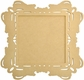 Beyond The Page MDF - Square Ornate Frame