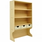 Beyond The Page MDF Upright Shelves w/3 Drawers