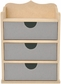 Beyond The Page Woodcraft - Chest Of Drawers/3 Drawers