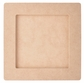 "Beyond The Page Woodcraft - Square Frame 6.5""x6.5"""