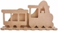 Beyond The Page Woodcraft - Train Frame