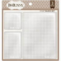 BoBunny Acrylic Stamp Blocks