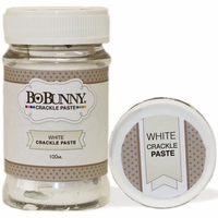 BoBunny Crackle Paste - White