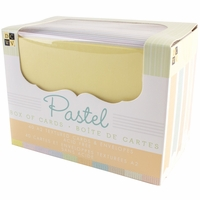 Box of Cards & Envelopes - Pastel Texture