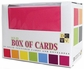 Box of Cards w/Envelopes - Solid Textured