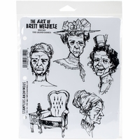 Brett Weldele Cling Stamps - The Grand Dames