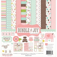"Bundle of Joy Girl Collection Kit 12""x12"""