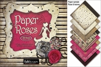 Burlesque Paper Roses Die-Cut Sheets