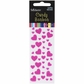 Candy Heart Stickers - Hot Pink