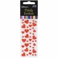 Candy Heart Stickers - Red