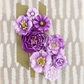 "Capistrano Paper Flowers 1.5"" to 2.5"" - Grape Soda"