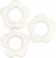 Cardstock Mini Frames - Cream/Daisy