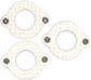Cardstock Mini Frames - Cream/Round With Eyelets