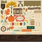 Carta Bella Fall Blessings Cardstock Stickers - Element