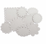 Chipboard Scallop Frames