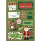Christmas Cardstock Stickers - 'Tis The Season