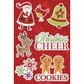 Christmas Cheer Canvas Stickers