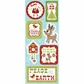 Christmas Cheer Chipboard Stickers - Peace On Earth