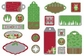 Christmas Treasures Dimensional Stickers - Icons & Tags