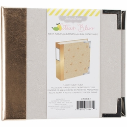 "Citrus Bliss Instagram Chipboard Album 4""x4"" - Click to enlarge"