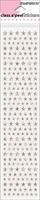 Class A Peels Stickers - Star Sparklers - Silver
