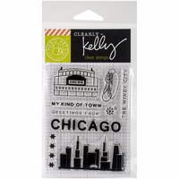 Clearly Kelly Destinations Stamps - Chicago