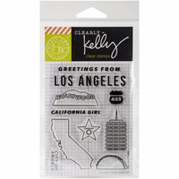 Clearly Kelly Destinations Stamps - Los Angeles