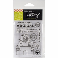 Clearly Kelly Destinations Stamps - Magical
