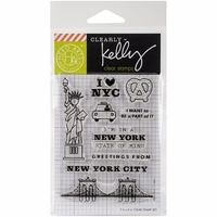 Clearly Kelly Destinations Stamps - New York