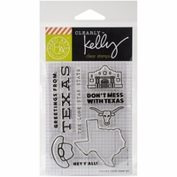Clearly Kelly Destinations Stamps - Texas