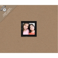 "Colorbok 3 Ring Album w/Window 12""x12"" Kraft"