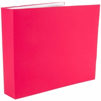 "Colorbok 3 Ring Fabric 12""x12"" Album - Pink"