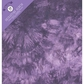 "Colorbok Fabric 3 Ring 8.5""x11"" Album - Tie Dye Purple"